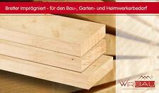 Bretter imprägniert - 100x23 mm/ Länge 3m, Preis je Brett