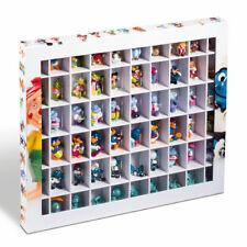Leuchtturm Sammelbox 60 Fächer Vitrine Setzkasten f. Ü-EI-Figuren Emoji Stickeez
