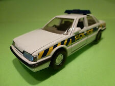 CORGI TOYS ROVER STERLING RHD - POLICE - WHITE 1:32? - GOOD CONDITION