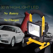 Portable 30W Led Flood Light Outdoor Waterproof Ipx6 Rechargeable Spotlight Lamp