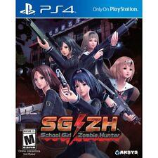 School Girl Zombie Hunter Ps4 Game USA Version