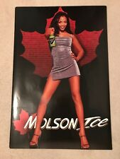 Molson Ice Sexy Lady 1999 Beer Poster