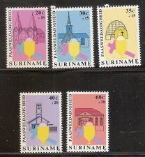 Suriname Republiek   Nr  167/171   Postfris.