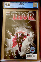 THOR #2 CGC 9.8 3RD PRINTING BLACK WINTER APPEARANCE (2020) MARVEL NM+