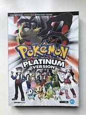 Pokemon Platinum Version The Official Pokemon Strategy Guide Nintendo DS