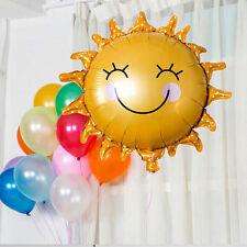 """Foil Balloons Smiley Sunshine Sun Aluminum Balloon Birthday Decor 24.4""""*24.4"""" GS"""
