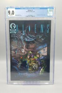Aliens #1 CGC 9.0 1st Aliens in comics! Low census Dark Horse (1988)