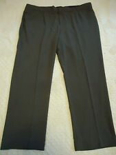 Womens 20W CJ Banks Lt. Brown Dress Slacks Four Pockets Belt Loops