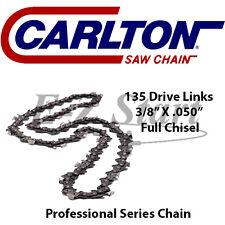 "Carlton 42"" Bar  3/8"" x .050"" Chainsaw Chain STIHL USA 135DL FULL CHISEL"