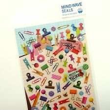 110x Stationery Themed Stickers - Mind Wave Inc