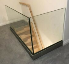More details for frameless glass balustrade - only£88 p/m  - perfect 4 landings & stairs
