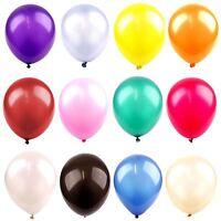 Large Pearlised Helium Balloons - High Grade Metallic Wedding Party Latex
