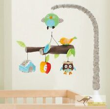 New Owl Treetop Friends Cot Musical Mobile 3 Designs