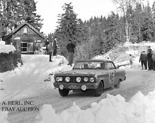 Ford Falcon Sprint 1964 Monte Carlo rally photograph photo rally racing 2 photo