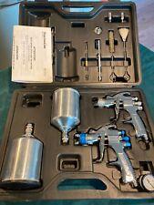 Devilbiss Startingline Hvlp Gravity Feed Spray 2x Gun Kit
