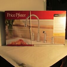 PRICE PFISTER SINGLE CONTROL KITCHEN FAUCET, STAINLESS, CERAMIC DISC VALVING