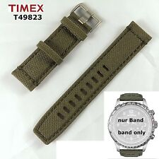 Timex Replacement Band T49823 E-Compass IQ - Identical T49819 t2n726 T2P286