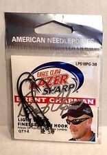 Eagle Claw Lazer Sharp Light Wire Finesse Worm Hooks Size 3/0