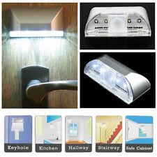 Premium Automatik Sensor Induktionslampe Schlüsselloch Infrarot IR 4 LED-Lichter