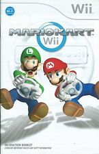 INSTRUCTION BOOKLET BOOK ONLY-MARIO KART=NINTENDO Wii=IDEAL REPLACEMENT UK