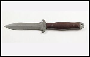 Vintage Barry Dawson USA custom combat boot fighting knife kydex sheath NICE