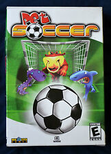 PET SOCCER Big City Games SPORTS Rated E/EVERYONE PC Windows CD-ROM - VIDEO GAME