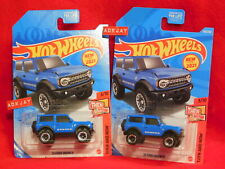 2021 Hot Wheels ~ THEN AND NOW #3/10 ~ '21 Ford Bronco ~ 2- 4x4 SUV