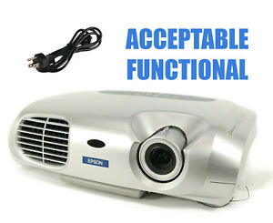 Epson S1 LCD Projector - Acceptable Functional w/Power Cable