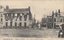 CPA GUERRE 14-18 WW1 BELGIQUE YPRES 42 pl vandenpeereboom ph antony écrite 1915