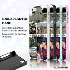 Personalised Photo Collage WITH TEXT Case Cover for iPhone Samsung Galaxy HTC