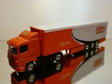 CORGI TOYS SCANIA TRUCK TNT GLOBAL EXPRESS LOGISTICS & MAIL - ORANGE 1:60?