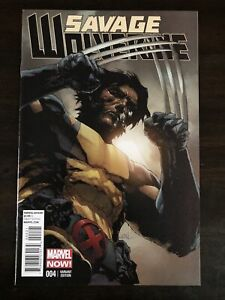 SAVAGE WOLVERINE #4 1:50 RETAILER VARIANT MARVEL COMICS NM