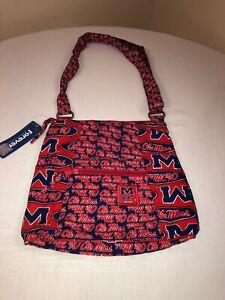 NCAA Kansas Jayhawks Sport Luxe Hobo Bag