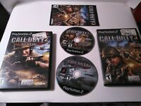 Call of Duty 2: Big Red One + COD 3 Sony PlayStation 2 CWW2 PS2 Lot