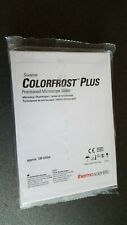 Shandon Colorfrost Plus Blue Tab Microscope Slides x 100 New Sealed