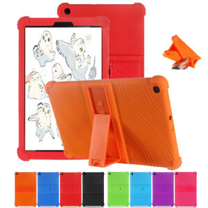 Kids Soft Silicone Stand Case Cover For Samusng Galaxy Tab A 10.1 2019 T510 T515