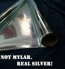 Reflectech Silver Mirror Solar Reflective Film 2'x4' sample w/adhesive