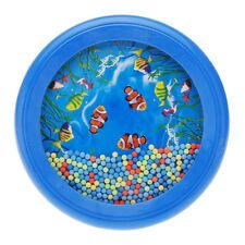 Ocean Wave Bead Drum Gentle Sea Sound Musical Educational Toy Tool HY
