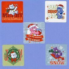 15 Care Bears Christmas Holiday - Large Stickers - Party Favors