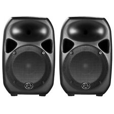 Wharfedale Pro Titan 8 Active MKII (Black/Black) Pair speakers active 150w RMS