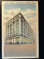 Vintage Postcard>1930-1945>Forbes & WallaceDepartment Store>Springfield>Mass.