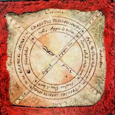 SUPER RARE RED Scrying Mirror Occult Paranormal Witch Spell Sigil Protection