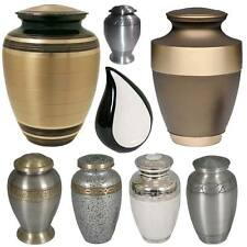 New Memorial Miniature Human Urn Keepsake Cremation Ashes Funeral Container Jars