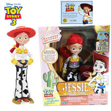 Disney Pixar Toy Story Kid Pull String + Interactive Cowgirl Talking Jessie Doll