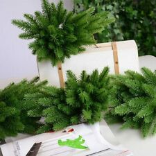 5Pcs Artificial Plants Pine Branches Christmas Tree New Year Decoration Ornament