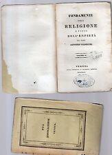 fondamenti della religione e fonti dell empieta'-p.antonino valsecchi -vol.secon