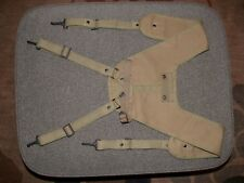 NICE US WW2 CORPMANS MEDIC SUSPENDERS MODIFIED FOR SHOVEL COVER ATTACHMENT REPRO