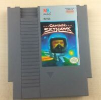 NES CAPTAIN SKYHAWK Nintendo Video Game Cartridge Only TESTED