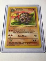 GRAVELER - Fossil Set - 37/62 - Uncommon - Pokemon Card - Unlimited Edition - NM