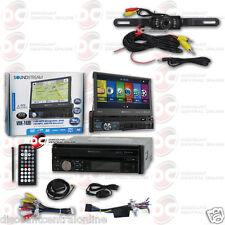 Soundstream Vrn-74Hb Din Gps Bluetooth Motorized Stereo Free Licenseplate Camera